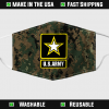 us army face mask filter activated carbon 155601