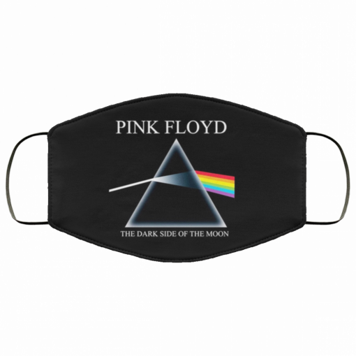 pink floyd dark side of the moon cloth face mask 155550