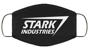 stark industries fabric face mask