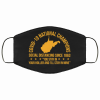 West Virginia Covid 19 Nation Champions Social Distancing Since 1863 Face Mask