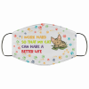 i work hard so that my cat can have a better life cloth face mask 137147