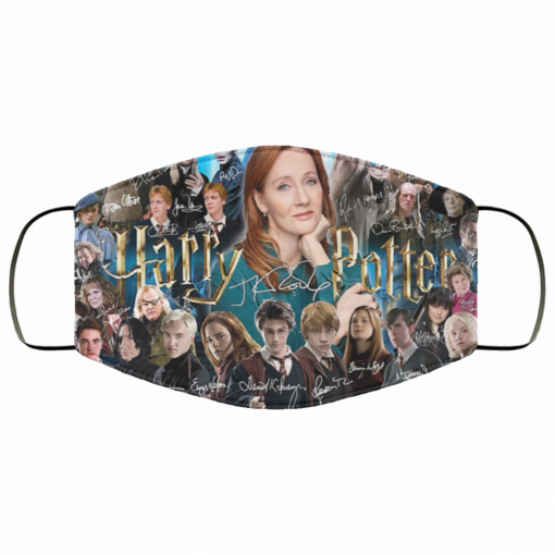 harry potter character signatures face mask 137145