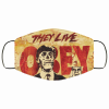 obey they live fabric fabric face mask 137128
