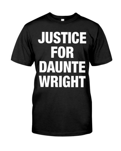 Justice For Daunte Wright Shirt